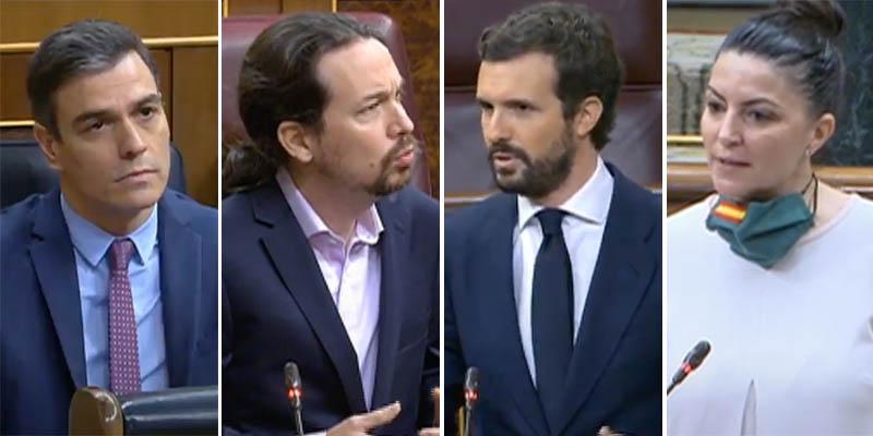 Casado destroza a Sánchez y Olona revienta a Iglesias sacando en el Congreso a la 'Gestapo' de Ferreras, Newtral y Maldita