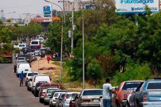 La crisis del coronavirus en Venezuela: personal sanitario retenido por horas debido a la escasez de gasolina