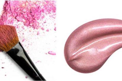 ¿Colorete en polvo o en crema?
