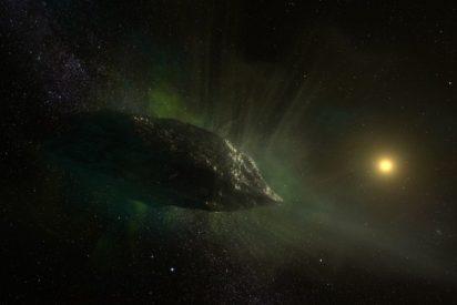 El misterioso cometaque nos visita desde otro sistema solar y quetiene una composición inusual