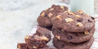 Cookies de chocolate con nueces