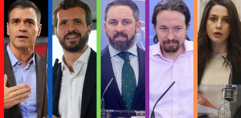 Se le pone negro al dúo Sánchez-Iglesias: PP, VOX y Ciudadanos rozan la mayoría absoluta
