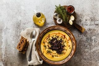 Fava griega: La mejor salsa de guisantes