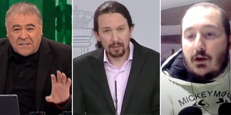 Cobertura: Ferreras corta la señal cuando a Iglesias le preguntan por la condenada Isa Serra