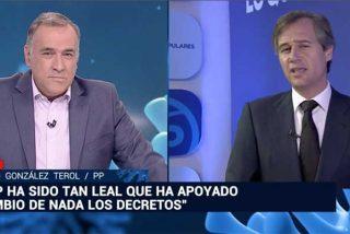 Fortes no levanta cabeza: González Terol le manda a la lona por segundo día consecutivo dándole en la boca con las barrabasadas de TVE