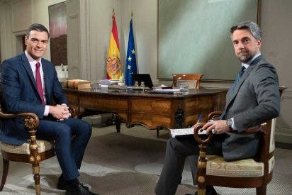 El brutal tuit contra Sánchez que puede costarle el puesto en TVE al presentador del Telediario