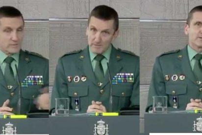 El General Santiago no rectifica que el Gobierno use a la Guardia Civil en la 'Operación Mordaza'