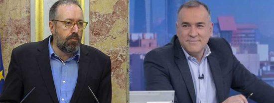 Juan Carlos Girauta pone patas arriba TVE colocando a Goebbels como becario suyo y el 'Lechero' Fortes es el primero en darse por aludido