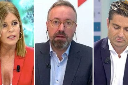 Juan Carlos Girauta monta en cólera contra Esther Palomera por increpar a Alfonso Merlos en TV