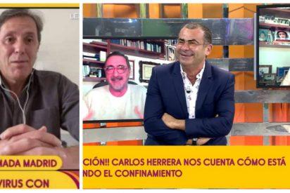 La presencia de Carlos Herrera y Paco González en 'Sálvame' desata los rumores de una alianza entre COPE y Vasile