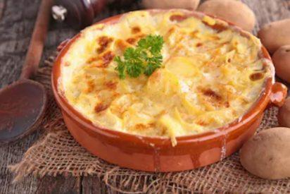 Gratinado de patatas a la francesa