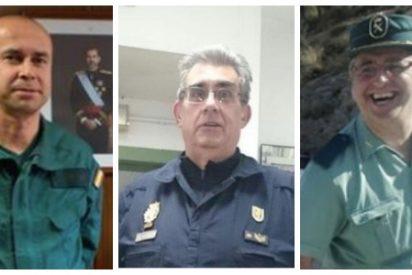 El 'parte de guerra' de policías, guardias civiles y militares: caídos en acto de servicio por el Covid-19