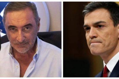 """Carlos Herrera se harta de los bulos del Gobierno Sánchez: """"Han engañado a la OCDE y quieren engañar a todos los demás"""""""