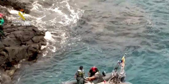 Tenerife: Un 'prófugo' del confinamiento se arroja al mar para escapar de la Guardia Civil