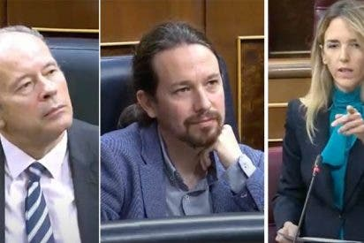 Cayetana lleva al Congreso el lenguaje soez de Isa Serra y un severo palo a Iglesias