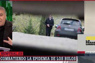 """Ataque de cólera de Ferreras con el """"estercolero ultra"""" por acusarle de haberse tragado un bulo con el paseo de Rajoy"""