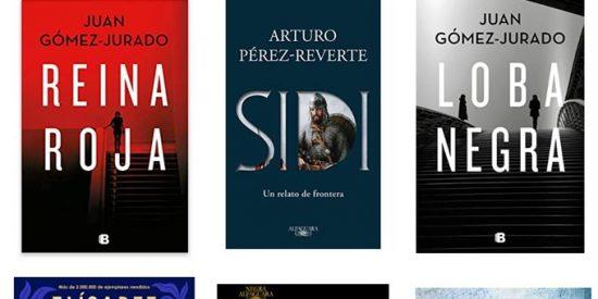 20 libros más vendidos más leído de España