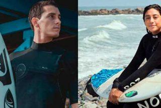 """Lucca Mesinas y Daniella Rosas, """"surfeando"""" en los tiempos del Coronavirus"""