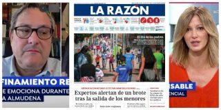 El Quilombo / Marhuenda despotrica en 'Espejo Público' contra el confinamiento de los 'expertos', el mismo día que éstos alertan en su periódico contra la desescalada