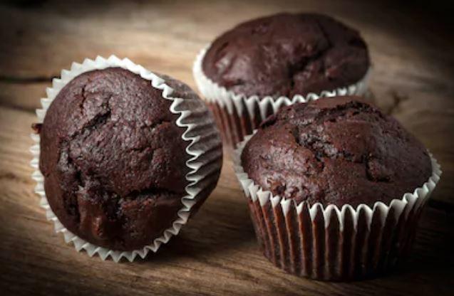 Muffins de chocolate esponjosos