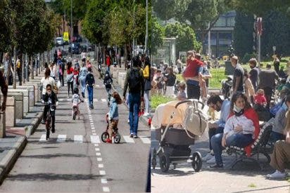 Las aglomeraciones tras la salida masiva de los niños durante la pandemiadesatan la polémica en España