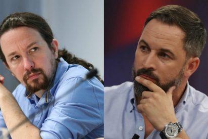 Abascal tilda de 'repugnante' que Iglesias se ponga a lanzar loas a la República