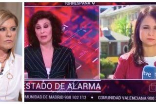 Las cloacas del PSOE con la ayuda de Palomera lanzan un bulo contra Isabel Díaz Ayuso que le explota en la cara a TVE