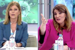 Esther Palomera se pasa de lista con María Claver y se come un zasca mayestático