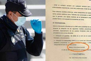 Las pruebas que dejan en evidencia a Marlaska por despedir al Policía que quiso proteger a sus hombres del coronavirus