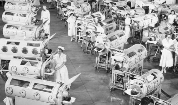 La polio, la epidemia en Dinamarca que dio origen a los cuidados intensivos