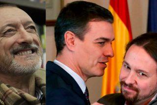 """Pérez-Reverte, sin citar al Gobierno PSOE-Podemos, alerta sobre cómo se monta una dictadura: """"Poco a poco, con pequeñas píldoras"""""""