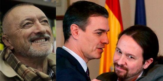 Pérez-Reverte, sin citar al Gobierno PSOE-Podemos, alerta sobre cómo se monta una dictadura: