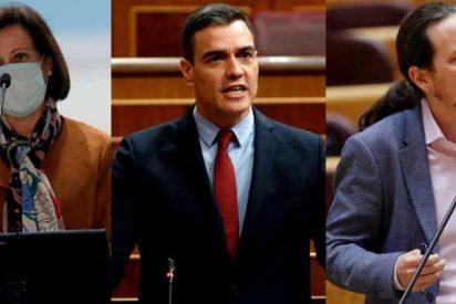 Margarita Robles, la primera ministra del Gobierno PSOE-Podemos que se da cuenta de que esto no es un 'guateque' sino una espantosa tragedia