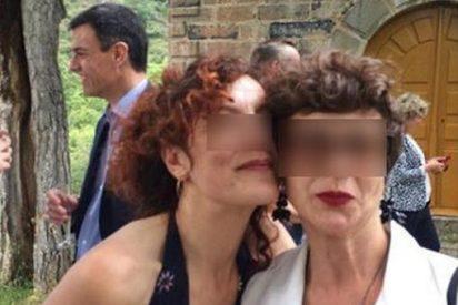 Las fotos que censura Moncloa del fiestón de Pedro Sánchez y Begoña Gómez en la boda de su hermano