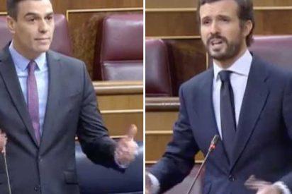 """Casado acorrala a Sánchez: """"¿Por qué mintió a los sanitarios? ¿Por qué no declara el luto nacional?"""""""