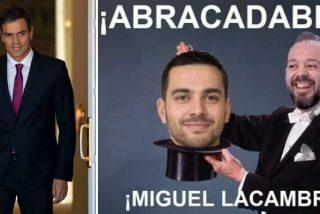 La Marea de Maestre y el 'fake' Lacambra piden auxilio a Sánchez y los tuiteros les desenmascaran: