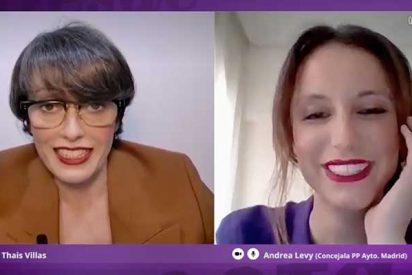 En laSexta como en casa: Andrea Levy confiesa que Martínez-Almeida le pilló en pijama en una videoconferencia