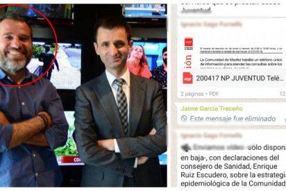 Así se destapó el escándalo del 'comisario político' de Telemadrid que ordenó atacar a Ayuso: intentó borrar su mensaje pero ya le habían pillado