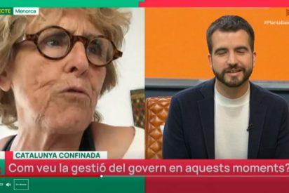 """Mercedes Milá estalla y corta un directo en TV3: """"Qué manía tenéis con que Cataluña no es España"""""""