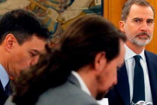 Moncloa coordina el ataque a Casa Real: Iglesias irá por Juan Carlos I, y Sánchez por Felipe VI