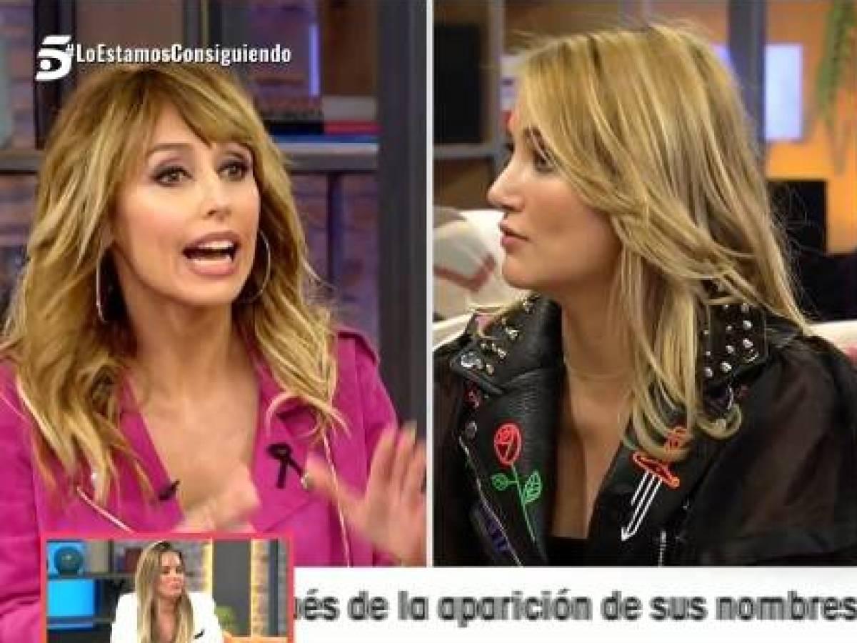 """Emma García manda """"a la mierda"""" a Alba Carrillo: ¿Se le acabó el chollo en Telecinco?"""