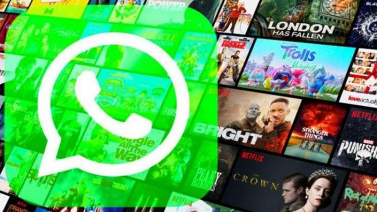 WhatsApp permitirá reproducir directamente contenidos de Netflix