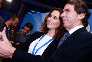 Aznar le 'echa un capote' a Ayuso: A mí me insultaba Chávez, a ti sus 'hijos' en España