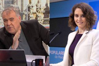 Ferreras 'rasca' en lo insólito para atacar a Díaz Ayuso: le acusa de entregar mascarillas de mejor calidad, pero...más incómodas