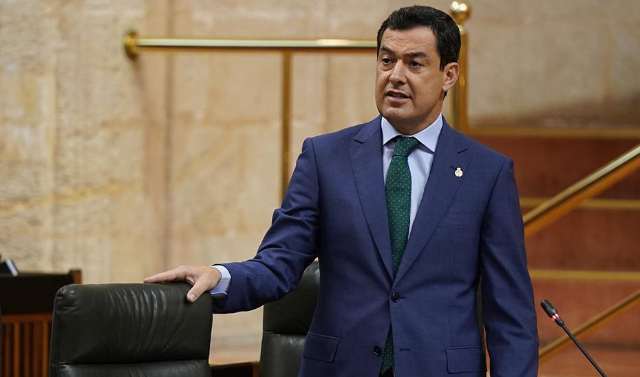 Moreno amplía a 700 millones de euros el fondo para afrontar los efectos sociales y económicos del coronavirus en Andalucía