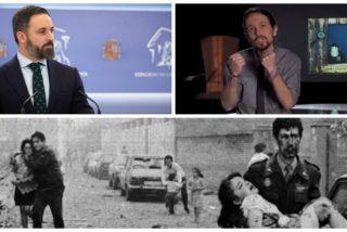 Santiago Abascal desbarata los guiños de Pablo Iglesias hacia los etarras con la foto más sangrienta de la banda