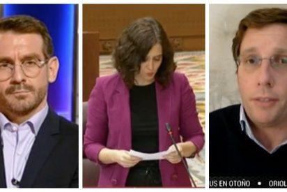 Martínez-Almeida cierra la boca al presentador de TVE que atacó a Ayuso por el aparthotel: