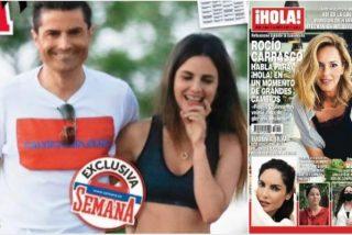 De renegar del 'MerlosPlace' a cebar la prensa rosa: Alexia y Alfonso Merlos se contradicen comiéndose a besos