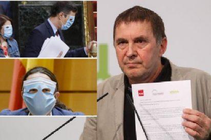 Sánchez está encantado con Otegi y al PSOE hace tiempo que le gustan los asesinos de ETA