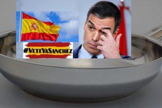 Las protestas contra Sánchez y su inepto Gobierno se extienden por toda España